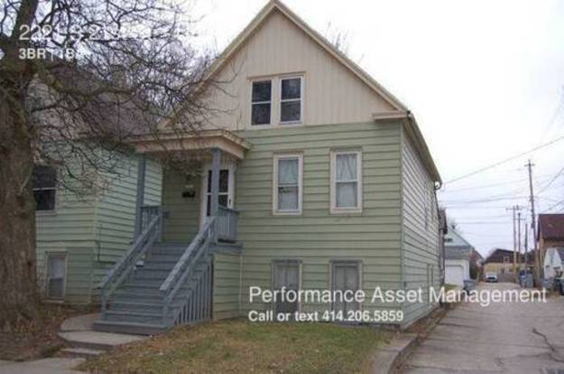 3 Bedrooms 1 Bathroom House for rent at 2221 S 21st St in Milwaukee, WI