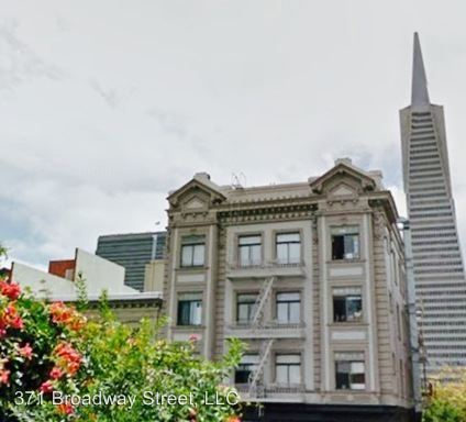 Studio 1 Bathroom Apartment for rent at 371 Broadway Street in San Francisco, CA