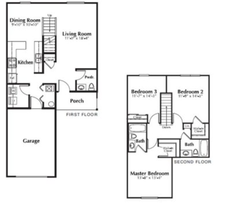 3 Bedrooms 3 Bathrooms Apartment for rent at The Residences At Towne Center in Columbus, OH