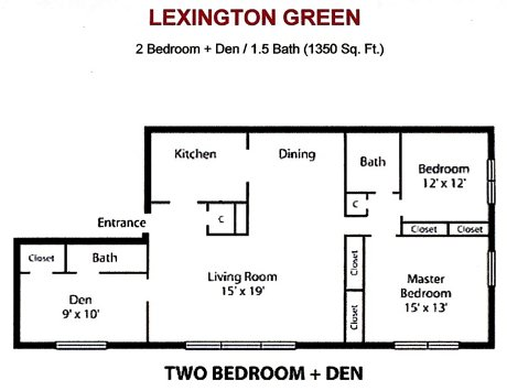 2 Bedrooms 2 Bathrooms Apartment for rent at Lexington Green Apartments in Madison, WI