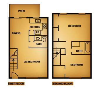 2 Bedrooms 1 Bathroom Apartment for rent at La Estancia Apartment Homes in El Paso, TX