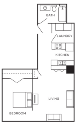 1 Bedroom 1 Bathroom Apartment for rent at Newberry Lofts On 6th in Cincinnati, OH