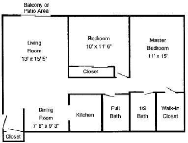 2 Bedrooms 2 Bathrooms Apartment for rent at Summit East Apartments in Cincinnati, OH