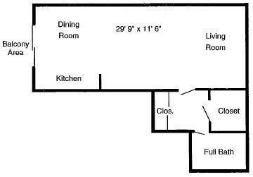 Studio 1 Bathroom Apartment for rent at Summit East Apartments in Cincinnati, OH