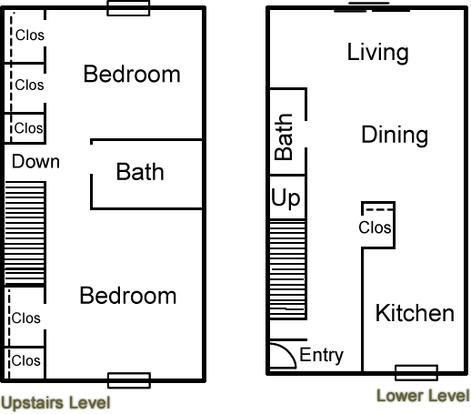 2 Bedrooms 2 Bathrooms Apartment for rent at Altuda Arms Apartments in El Paso, TX