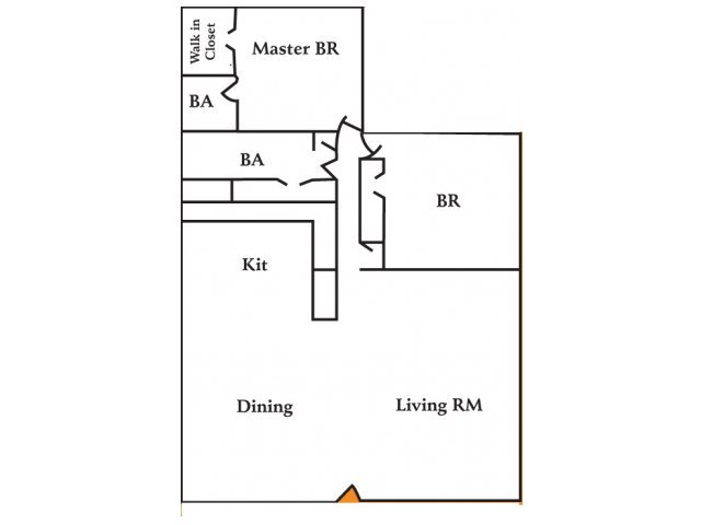 2 Bedrooms 2 Bathrooms Apartment for rent at Silverstone Apartment Homes in Charlotte, NC