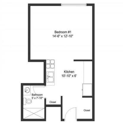 Studio 1 Bathroom Apartment for rent at 30 E Lane in Columbus, OH