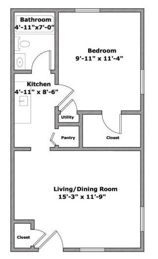 1 Bedroom 1 Bathroom Apartment for rent at 56 E Lane Ave in Columbus, OH