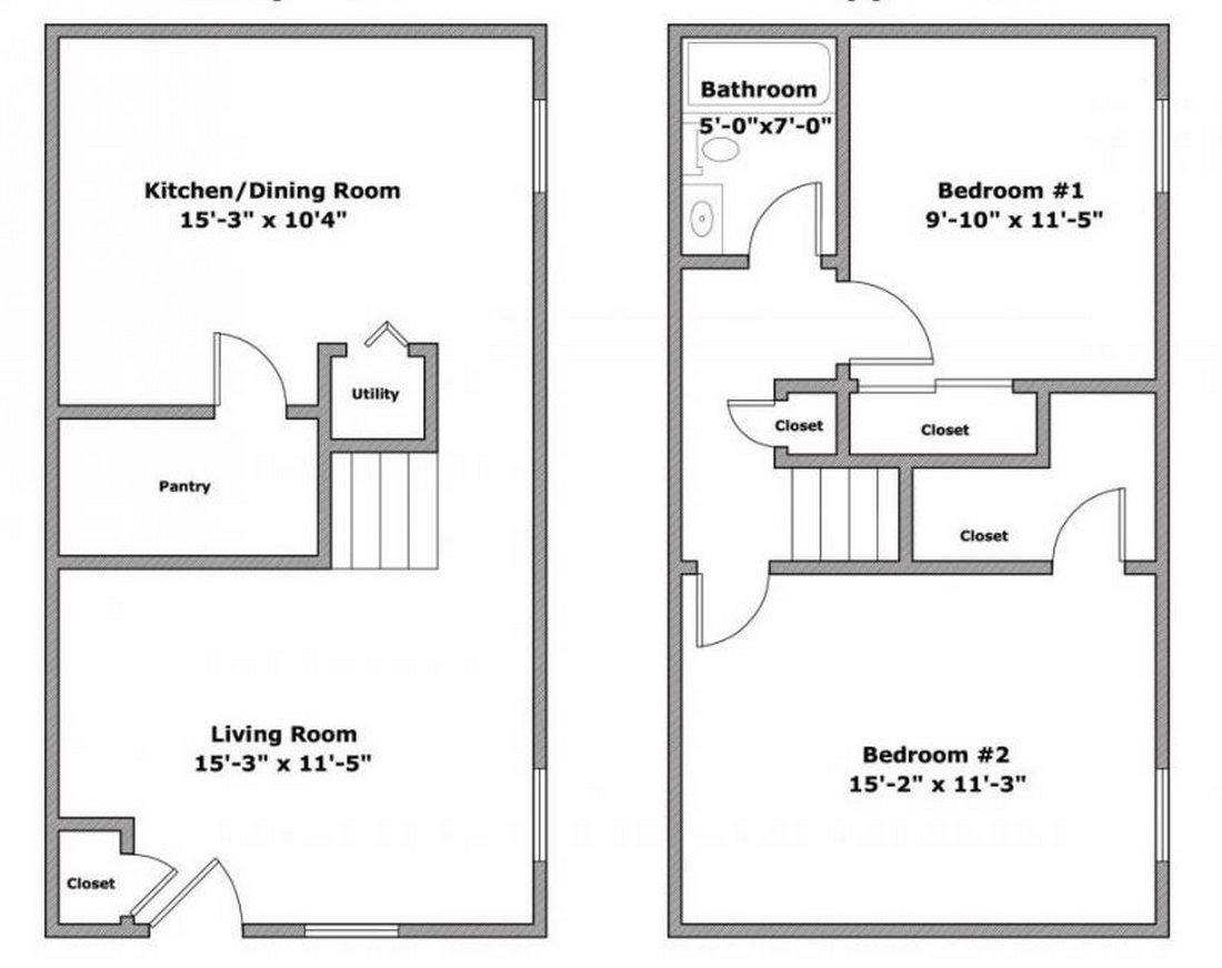 2 Bedrooms 1 Bathroom Apartment for rent at 56 E Lane Ave in Columbus, OH