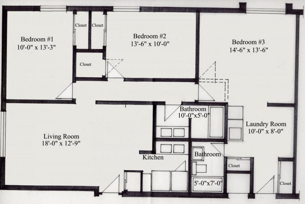 3 Bedrooms 2 Bathrooms Apartment for rent at 30 E Lane in Columbus, OH