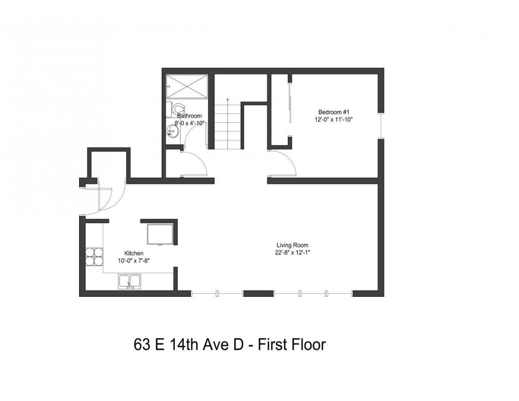 5 Bedrooms 2 Bathrooms Apartment for rent at 63 E 14th Ave in Columbus, OH