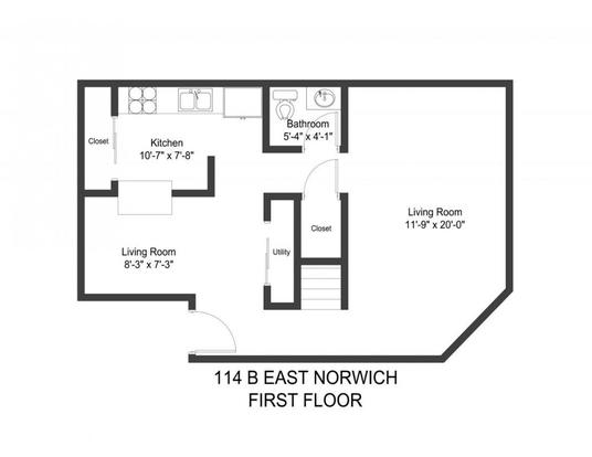 4 Bedrooms 2 Bathrooms Apartment for rent at 114 E Norwich Ave in Columbus, OH