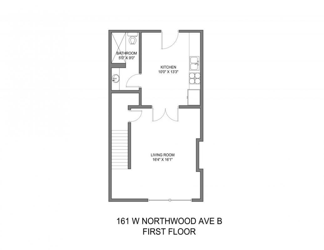 2 Bedrooms 1 Bathroom Apartment for rent at 159-165 W Northwood in Columbus, OH