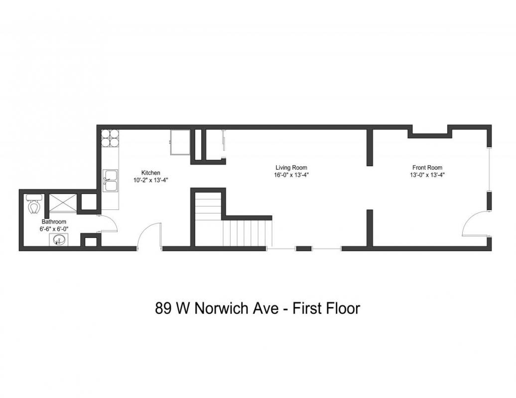 3 Bedrooms 1 Bathroom Apartment for rent at 89-91 W Norwich Ave in Columbus, OH