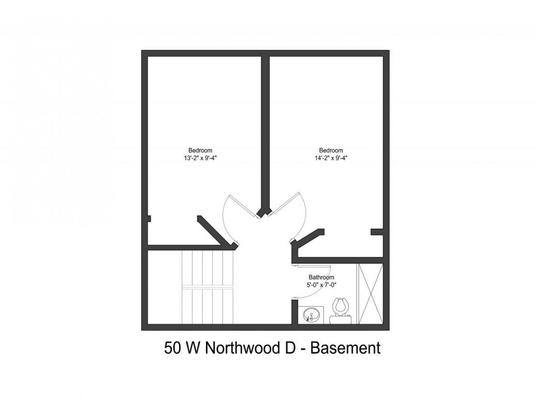 4 Bedrooms 2 Bathrooms Apartment for rent at 50 W Northwood Ave in Columbus, OH