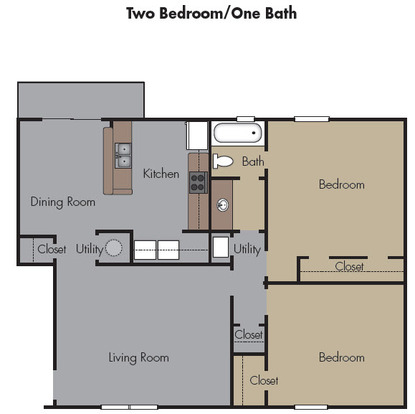 2 Bedrooms 1 Bathroom Apartment for rent at The Terraces At Highbury Court in Atlanta, GA