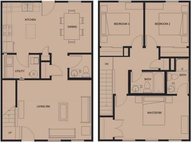 3 Bedrooms 2 Bathrooms Apartment for rent at Arlington Grove Apartments in St Louis, MO
