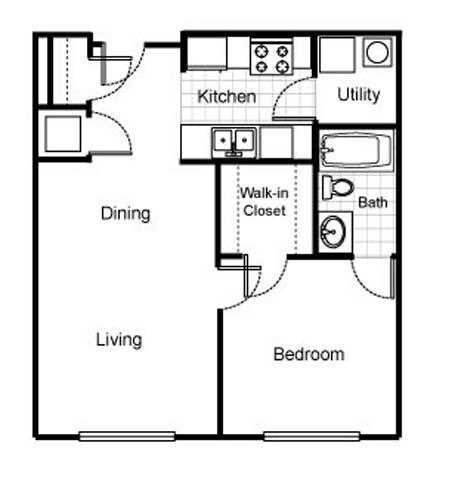 1 Bedroom 1 Bathroom Apartment for rent at Jazz District Apartments in Kansas City, MO