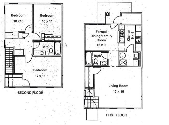 3 Bedrooms 2 Bathrooms Apartment for rent at Murphy Park Apartments in St Louis, MO