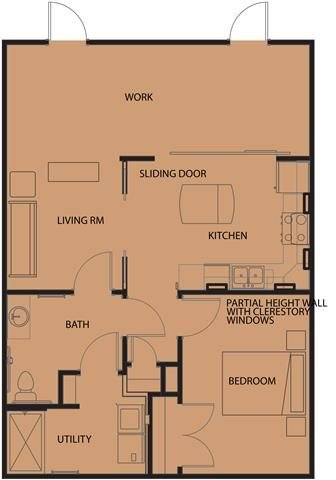 1 Bedroom 1 Bathroom Apartment for rent at North Sarah Apartments in St Louis, MO