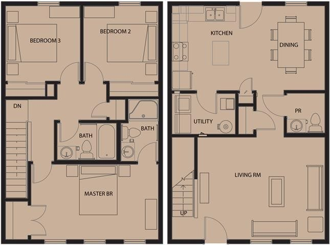 3 Bedrooms 2 Bathrooms Apartment for rent at North Sarah Apartments in St Louis, MO