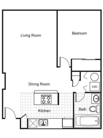 1 Bedroom 1 Bathroom Apartment for rent at The Brewery Apartments in St Louis, MO