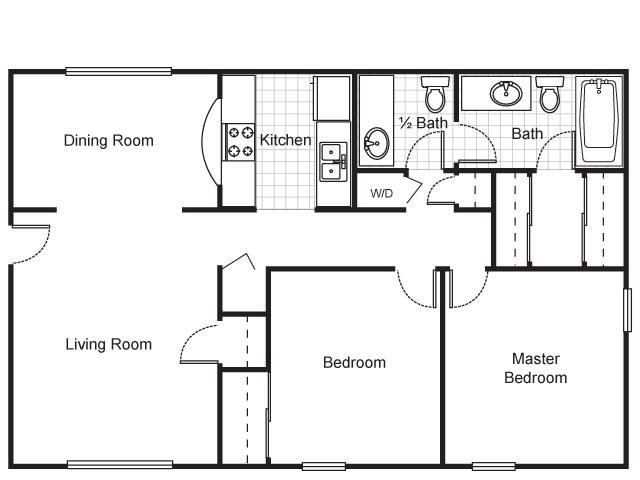 2 Bedrooms 1 Bathroom Apartment for rent at The Brewery Apartments in St Louis, MO