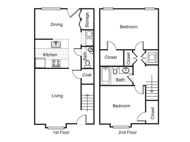 2 Bedrooms 1 Bathroom Apartment for rent at Longfellow Heights Apartments in Kansas City, MO