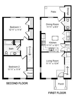 2 Bedrooms 2 Bathrooms Apartment for rent at Renaissance Place At Grand Apartments in St Louis, MO