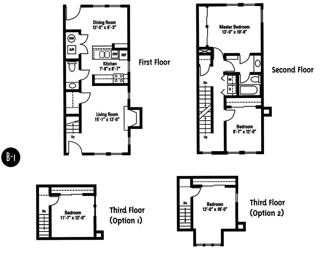 3 Bedrooms 2 Bathrooms Apartment for rent at Crawford Square Apartments in Pittsburgh, PA