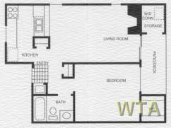1 Bedroom 1 Bathroom Apartment for rent at 9500 Dessau Rd in Austin, TX