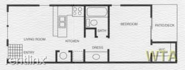 1 Bedroom 1 Bathroom Apartment for rent at Dessau Rd And Dungan Ln in Austin, TX