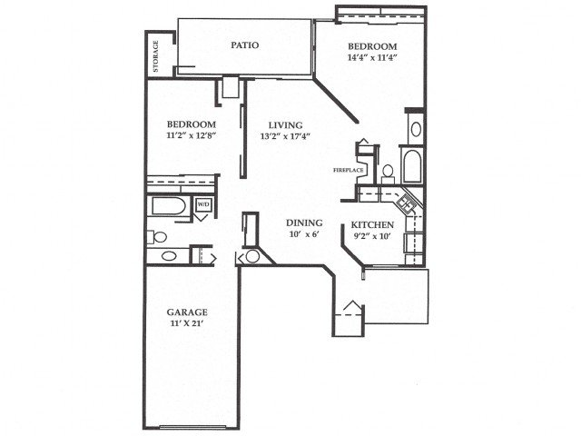 2 Bedrooms 2 Bathrooms Apartment for rent at Plum Tree Apartments in Hales Corners, WI