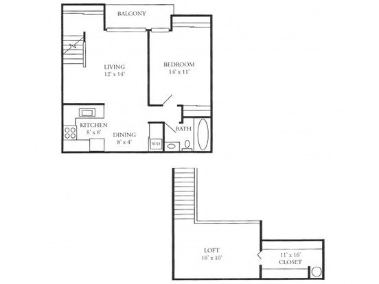 2 Bedrooms 1 Bathroom Apartment for rent at Plum Tree Apartments in Hales Corners, WI