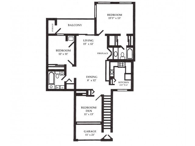 3 Bedrooms 2 Bathrooms Apartment for rent at Plum Tree Apartments in Hales Corners, WI