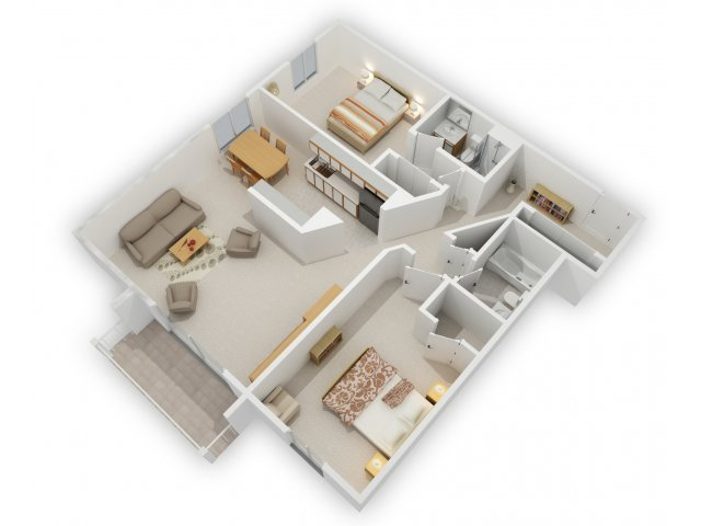 2 Bedrooms 2 Bathrooms Apartment for rent at Minnetonka Hills Apartments in Minnetonka, MN