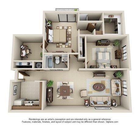 2 Bedrooms 2 Bathrooms Apartment for rent at Pinewood Creek in New Berlin, WI