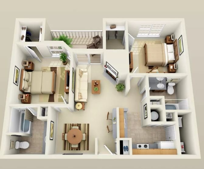 2 Bedrooms 2 Bathrooms Apartment for rent at Lincoln Ridge Apartments in Madison, WI