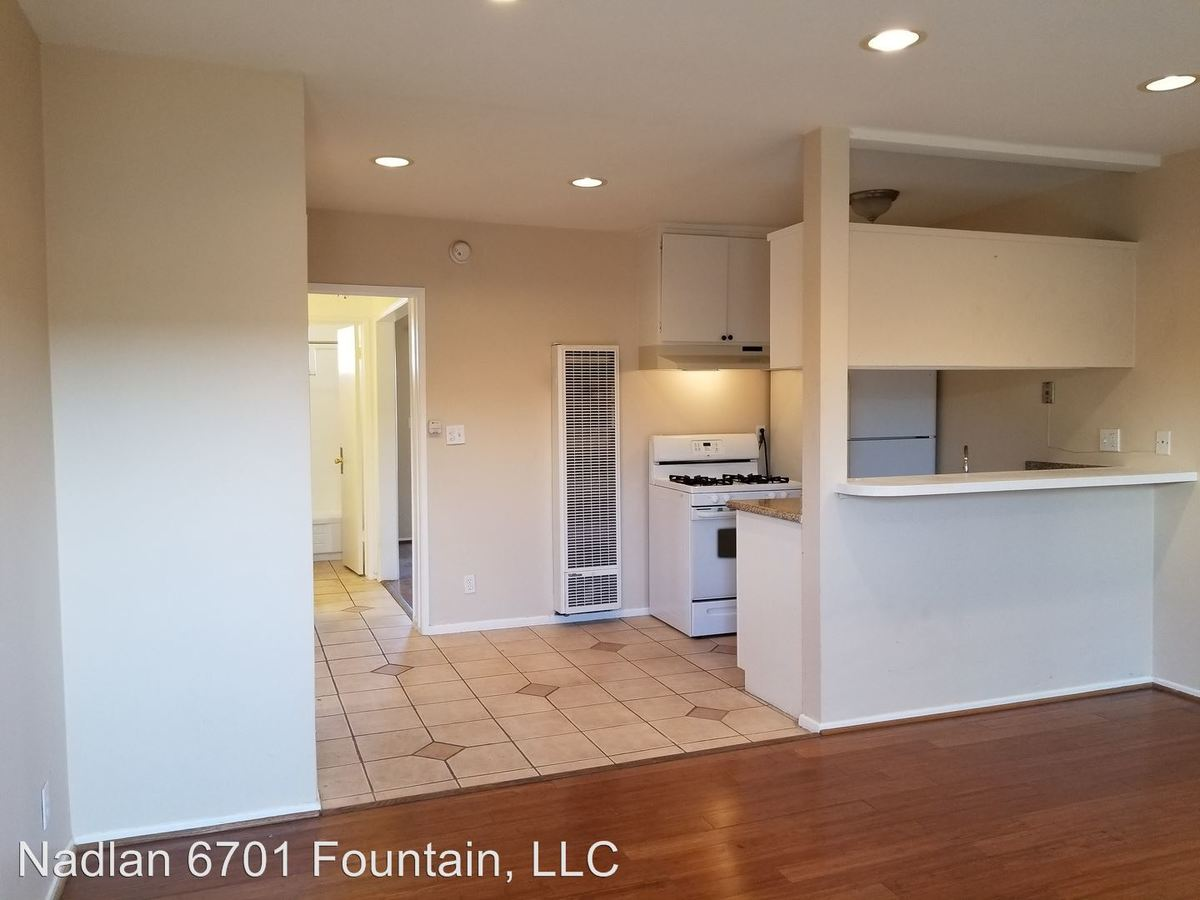 1 Bedroom 1 Bathroom Apartment for rent at 6701 Fountain Ave. in Los Angeles, CA