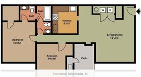 Elmwood Dr Apartment for rent in Terre Haute, IN