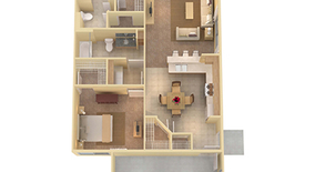 Similar Apartment at Foxtail Dr