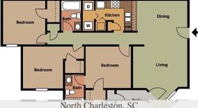 Baker Hospital Blvd Apartment for rent in North Charleston, SC