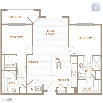 1 Bedroom 1 Bathroom Apartment for rent at Broadway in Alamo Heights, TX