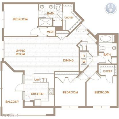 3 Bedrooms 2 Bathrooms Apartment for rent at Starcrest in San Antonio, TX
