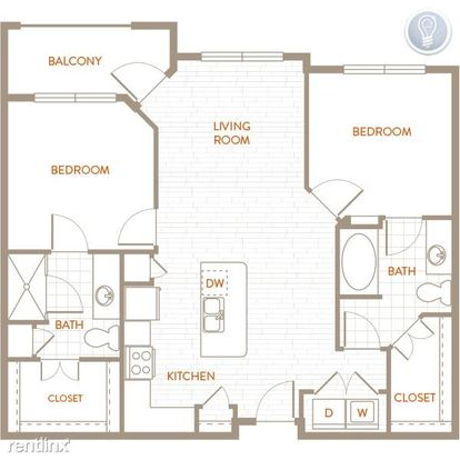 2 Bedrooms 2 Bathrooms Apartment for rent at Broadway in Alamo Heights, TX