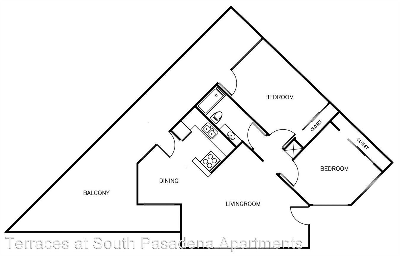 2 Bedrooms 1 Bathroom Apartment for rent at 410 Raymondale Drive in Pasadena, CA