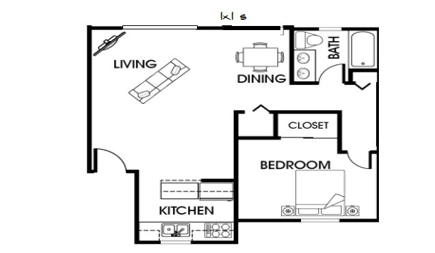 1 Bedroom 1 Bathroom Apartment for rent at Ramblewood Apartments in Fort Collins, CO