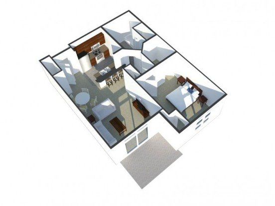 1 Bedroom 1 Bathroom Apartment for rent at The West End in Verona, WI