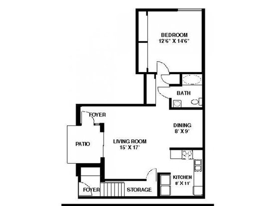 1 Bedroom 1 Bathroom Apartment for rent at Stonewood Village in Madison, WI