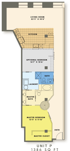 1 Bedroom 2 Bathrooms Apartment for rent at The Bogen Lofts in St Louis, MO
